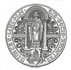 The Insignia of the Lincoln Diocesan Architectural Society adopted in 1844