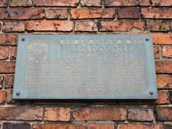 Plaque outside 3, Pottergate, Lincoln