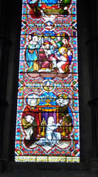 Memorial window in Cathedral