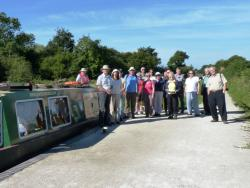 SLHA group led by Stewart Squires, next to Grantham Canal at Woolsthorpe