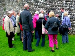 SLHA group at Chichester's town walls