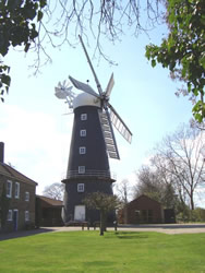 5-sailed windmill, Alford