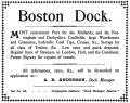 Boston, Dock, Advertisement