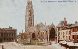 Boston Stump and Market Place