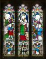 Burgh on Bain, St Helen, Chancel, East Window