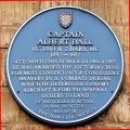 Grantham, King's School, Blue Plaque, Albert Ball
