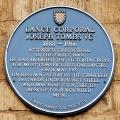 Grantham, King's School, Blue Plaque, Joseph Tombs
