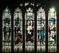 Harlaxton, St Mary & St Peter, South Chapel, Tudor Window