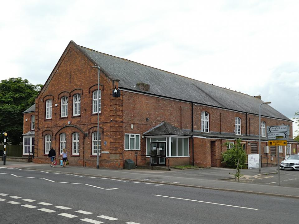 Horncastle, Drill Hall / Town Hall, Stanhope Hall, Boston Road
