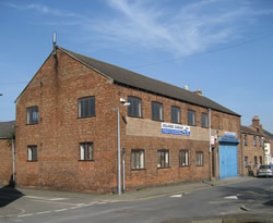 Iron foundry in Foundry Street, Horncastle