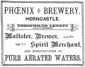 Horncastle, Phoenix Brewey, Advertisement