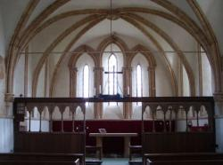 St Leonard's Church, Kirkstead, interior