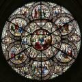 Lincoln Cathedral, Chapter House, Rose Window