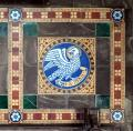 Old Bolingbroke, St Peter & St Paul, Chancel, Tile