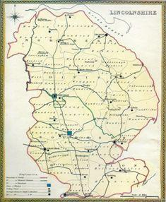 Lincolnshire Map